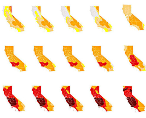 drought maps 2014