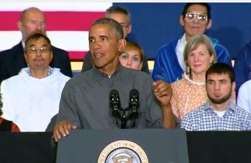 President Obama in Alaska