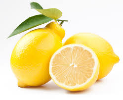 Lemon cut