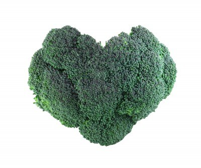 heart shaped broccoli