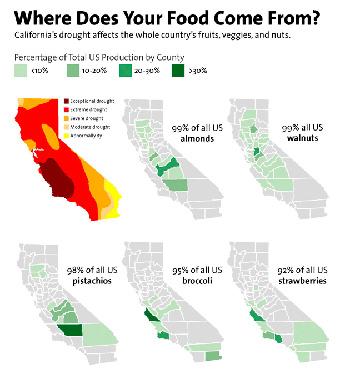 California Crops Map