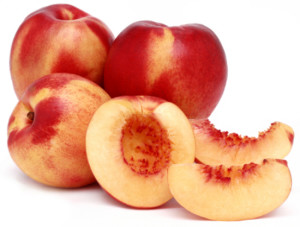 Nectarines Cut