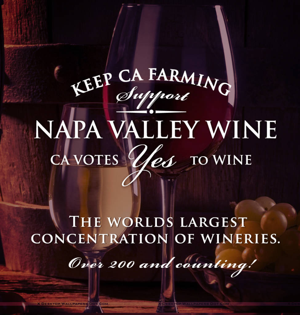 support napa valley wine