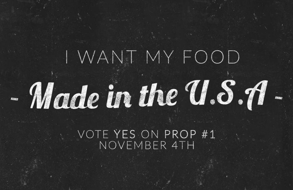yes prop1 food made in usa