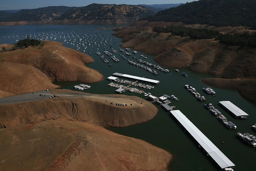 Bidwell Marina at Lake Oroville Image by Justin Sullivan:Getty Images