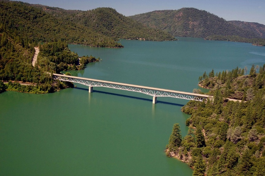 Enterprise Bridge Image by Paul Hames:California Department of Water Resources