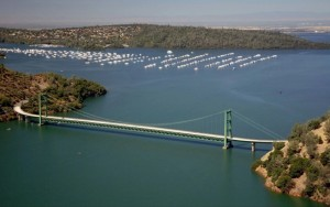 Green Bridge Image by Paul Hames:California Department of Water Resources