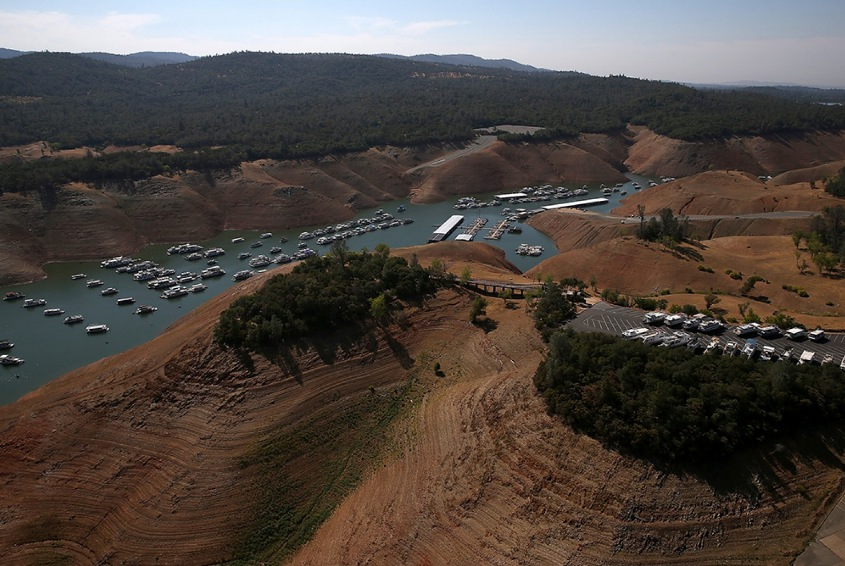Lake Oroville Image by Justin Sullivan:Getty Images